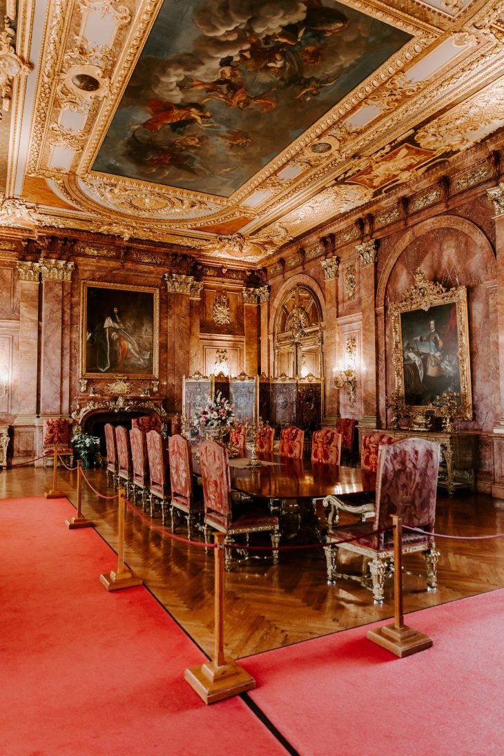 Dining Room in Marble House