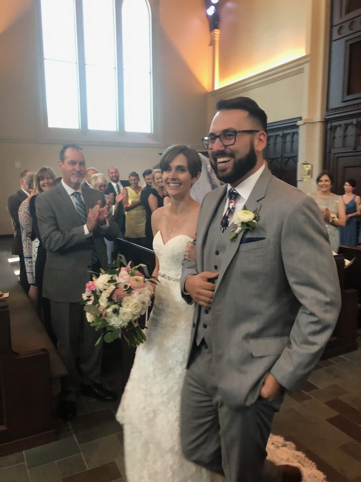 Man and Wife Married