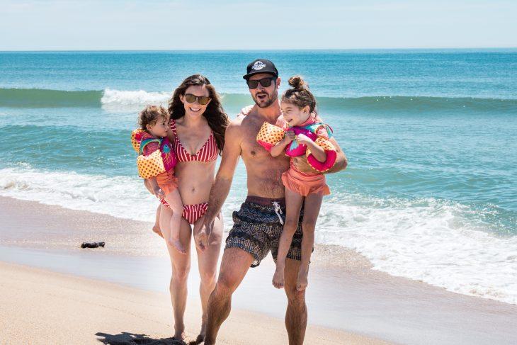 Montauk NY Family on the Beach