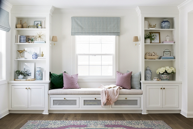Bookcase Blue Decor
