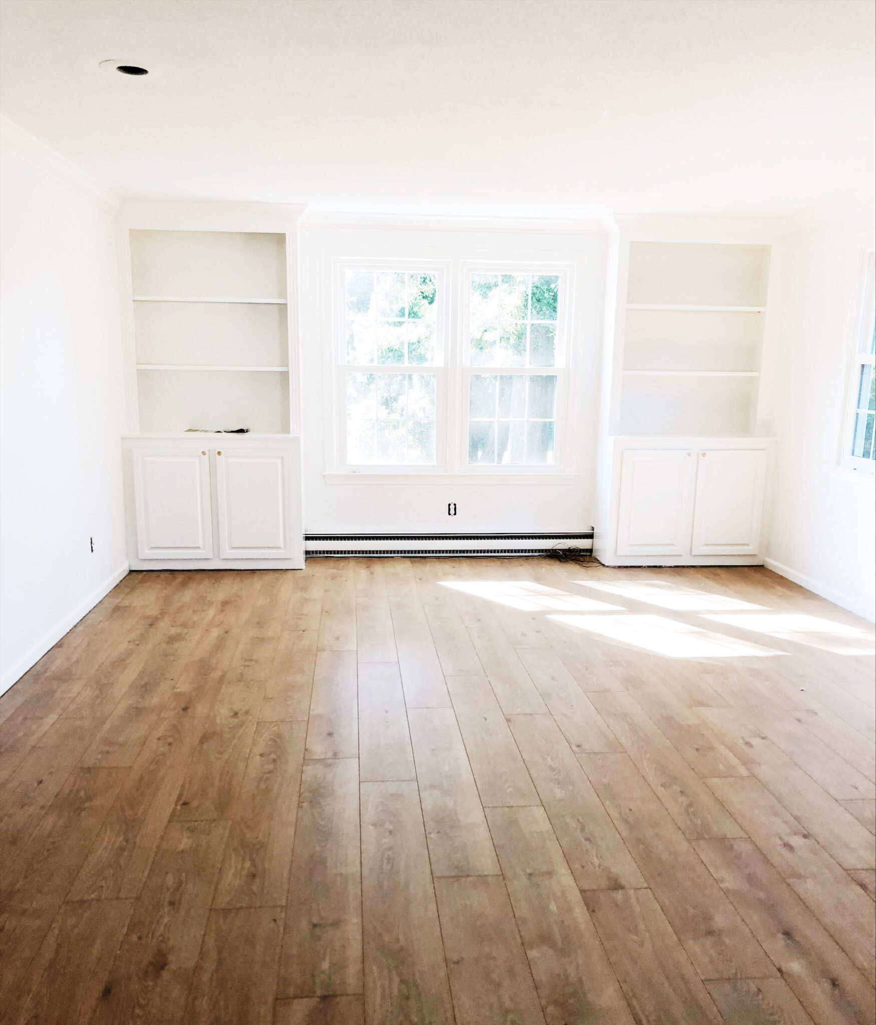 Family Room Before/After