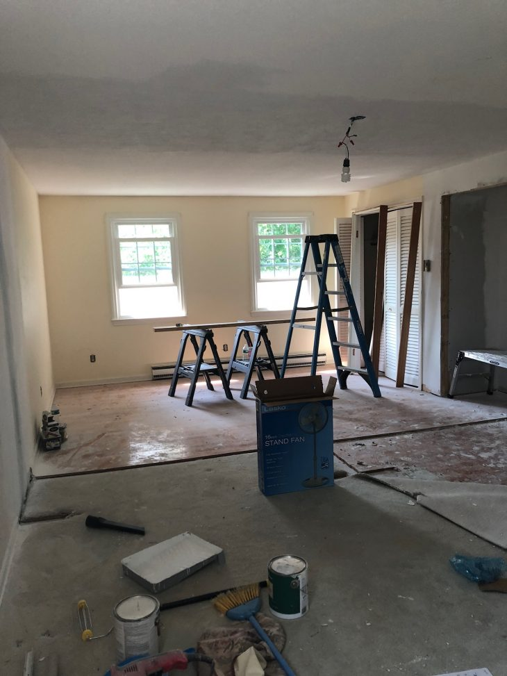 Renovations to Bedroom