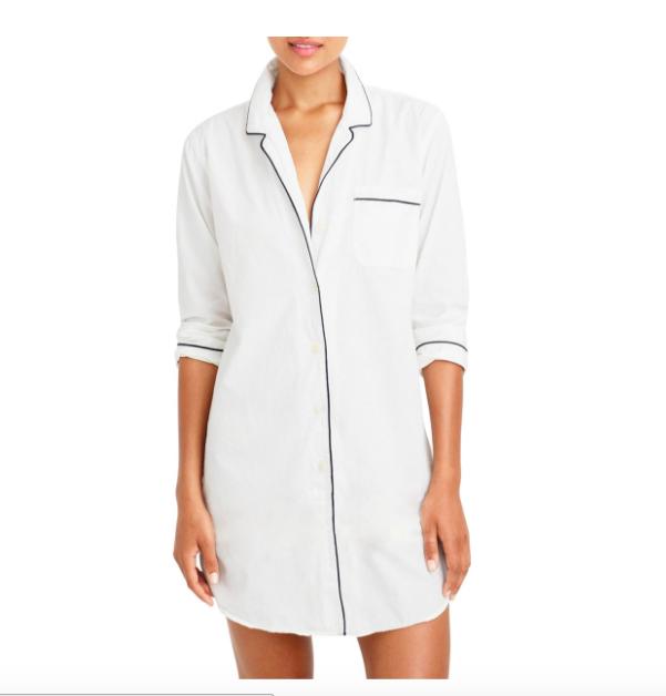 White Sleep Shirt