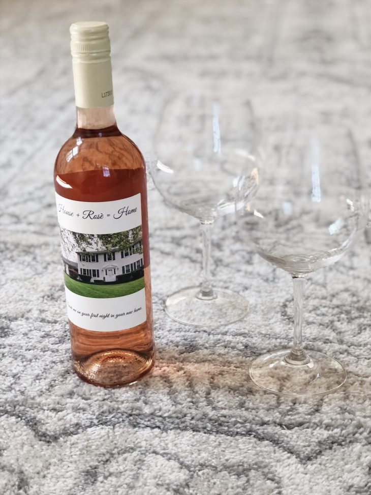 Housewarming Gift Personalized Wine