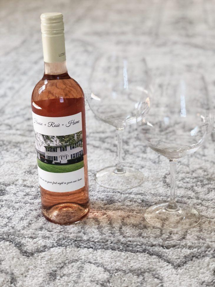 Housewarming Gift Personalized Wine