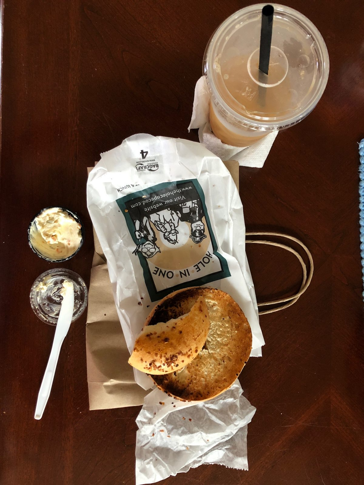 The Best Bagels in Cape Cod at Hole in One in Eastham