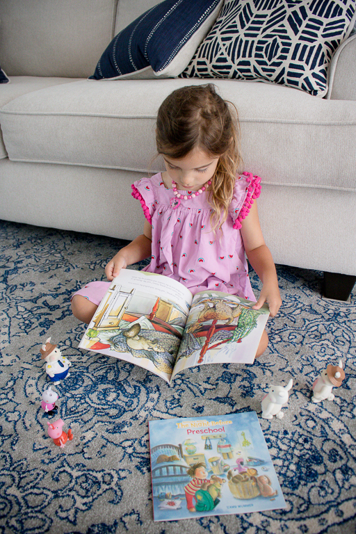 Preschooler Reading Books