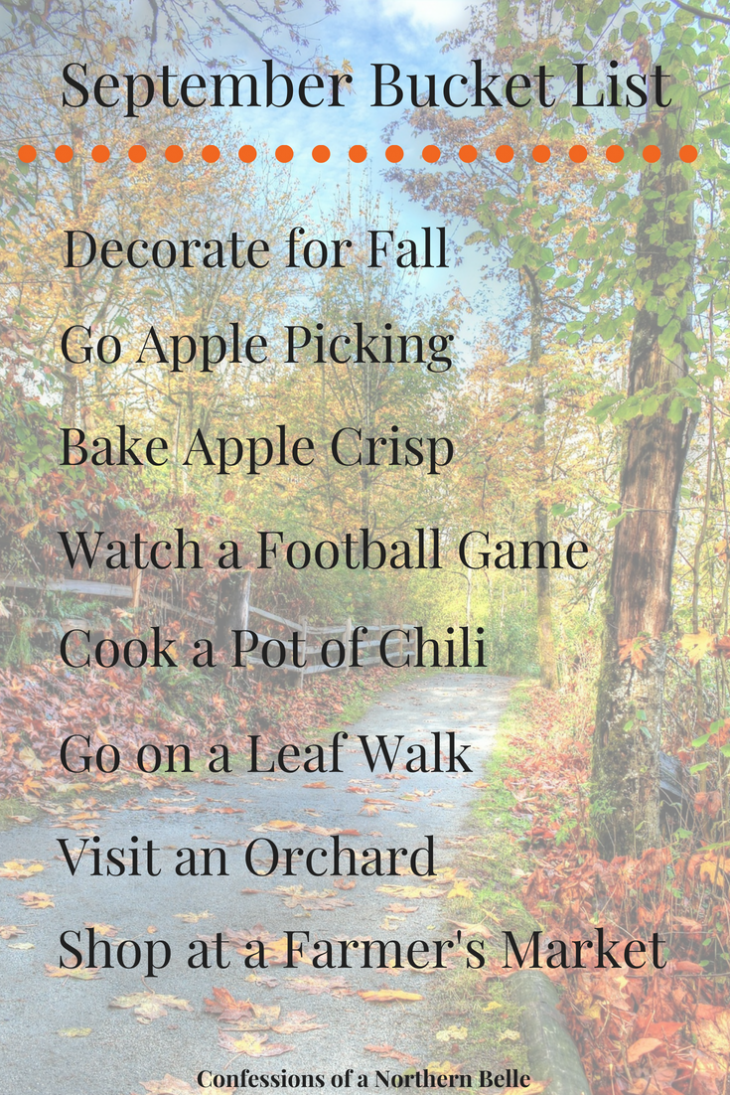September Bucket List - Things to do during September - New England Fall Fashion