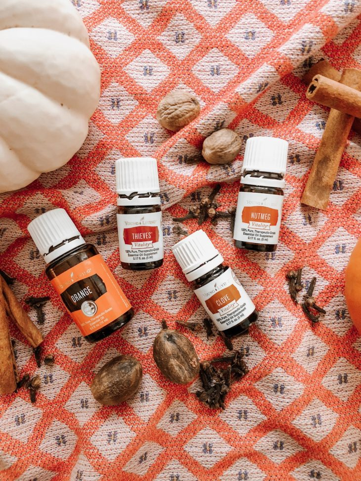 Young Living Essential Oils for Fall
