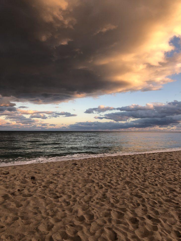 Beach Sunset in Nantucket