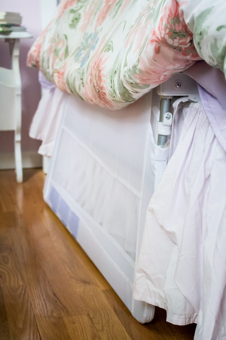 Fold Down Bed Rail