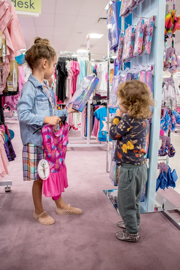Sisters Shopping at Boscov's