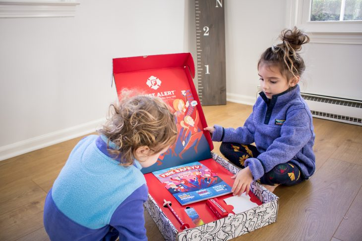 Fire Alert Fire Prevention Family Box