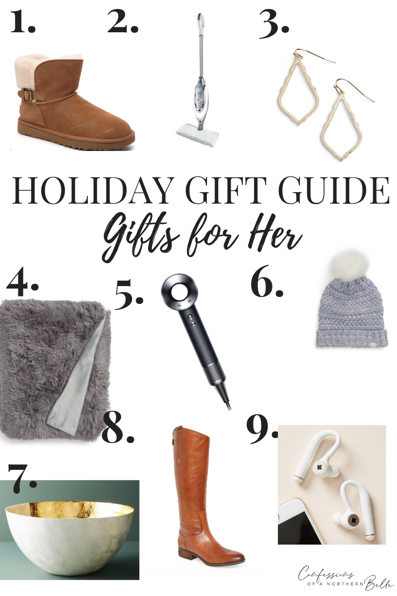 Gift Guide // Gifts for Her