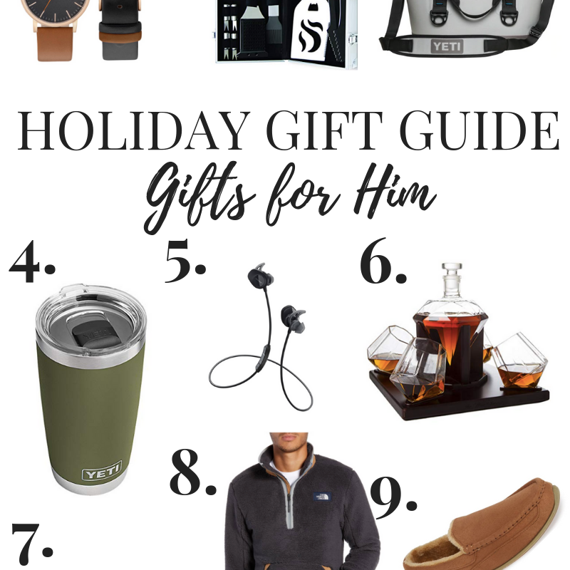 Gift Guide // Gifts for Him