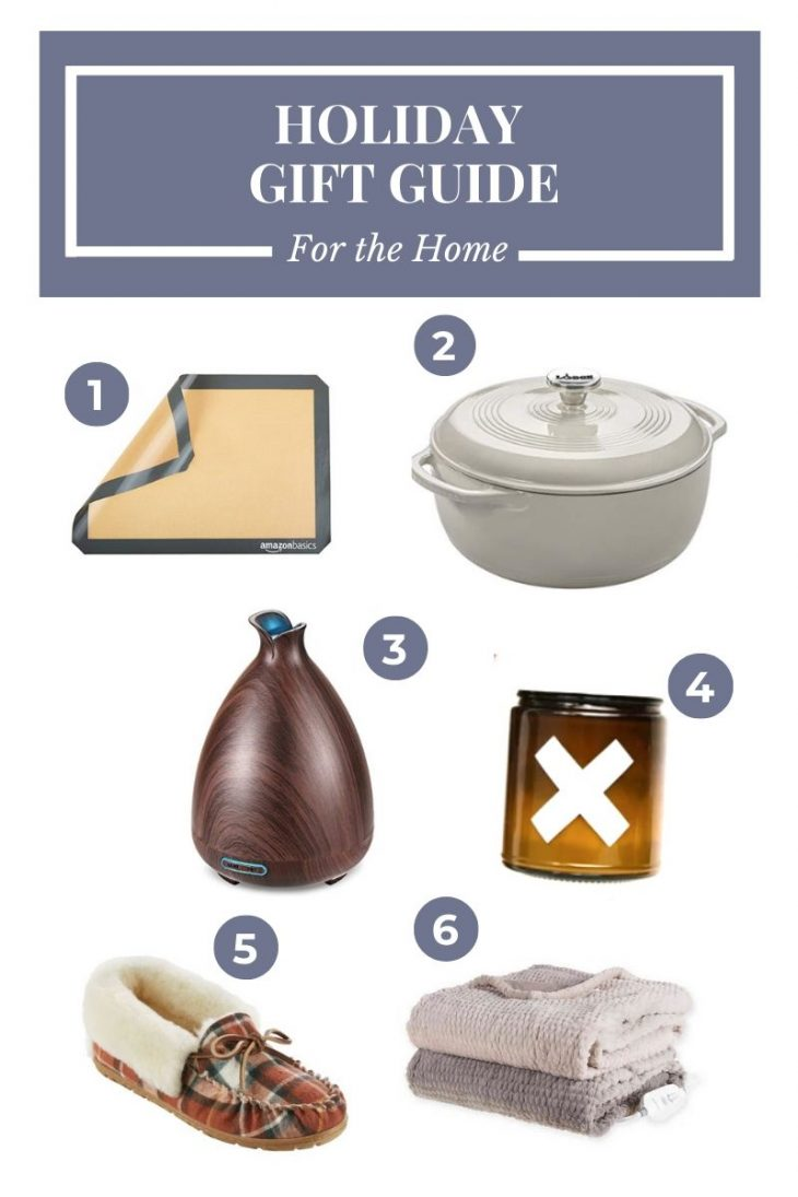 Baking Mat, Dutch Oven, Diffuser, Slippers, Candle, Heated Blanket