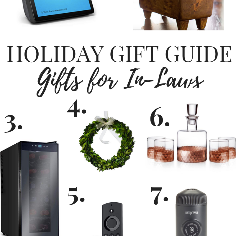 Gift Guide // Gifts for the In-Laws