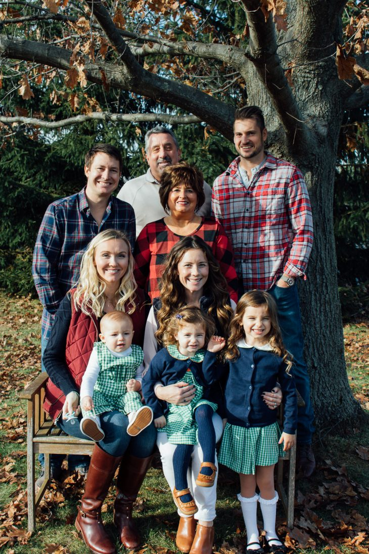 Matching Family Photo Plaid and Red and Green