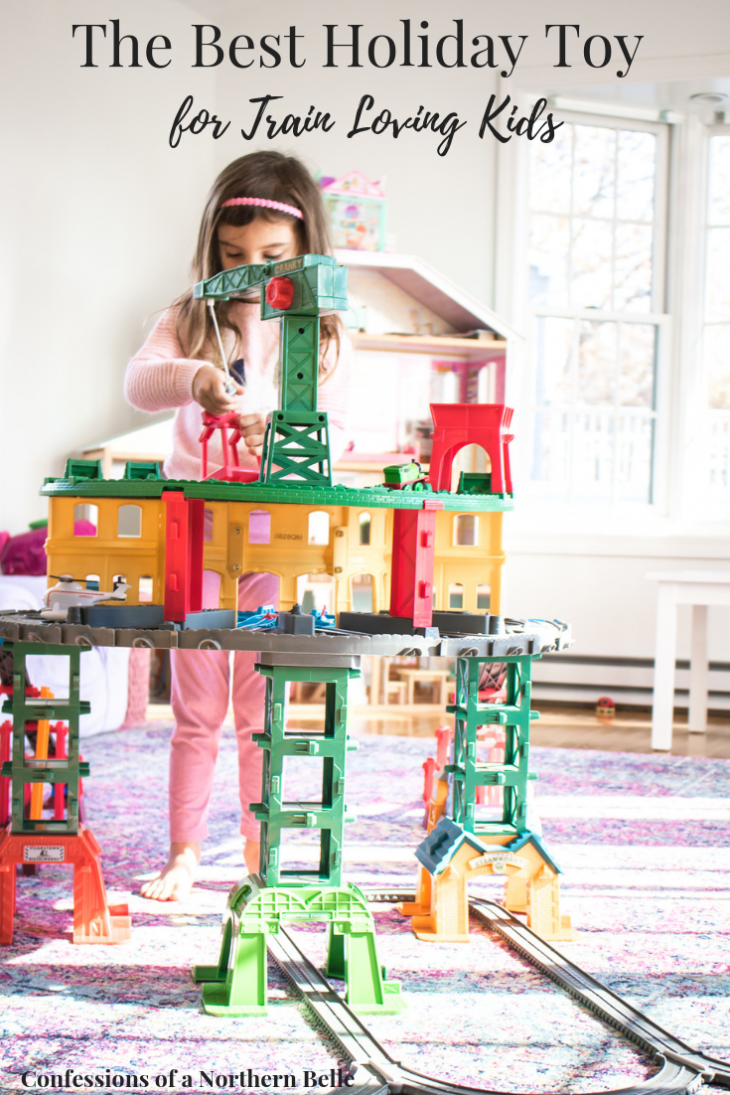 The Best Holiday Gift for Train Loving Kids - Thomas and Friends Super Station