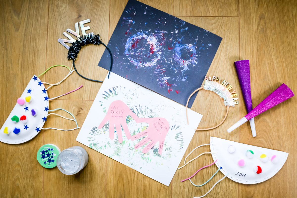 New Year S Eve Crafts For Kids Confessions Of A Northern Belle