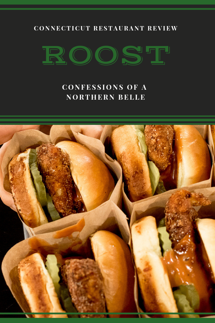 Chicken Sandwiches at fast casual restaurant ROOST in Hamden CT // Connecticut Restaurant Review of Roost in Hamden CT by Confessions of a Northern Belle // #ctdining #ctrestaurants