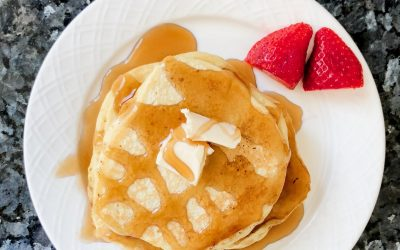 Homemade Pancakes Recipe {The Best Pancakes You've Ever Had!}