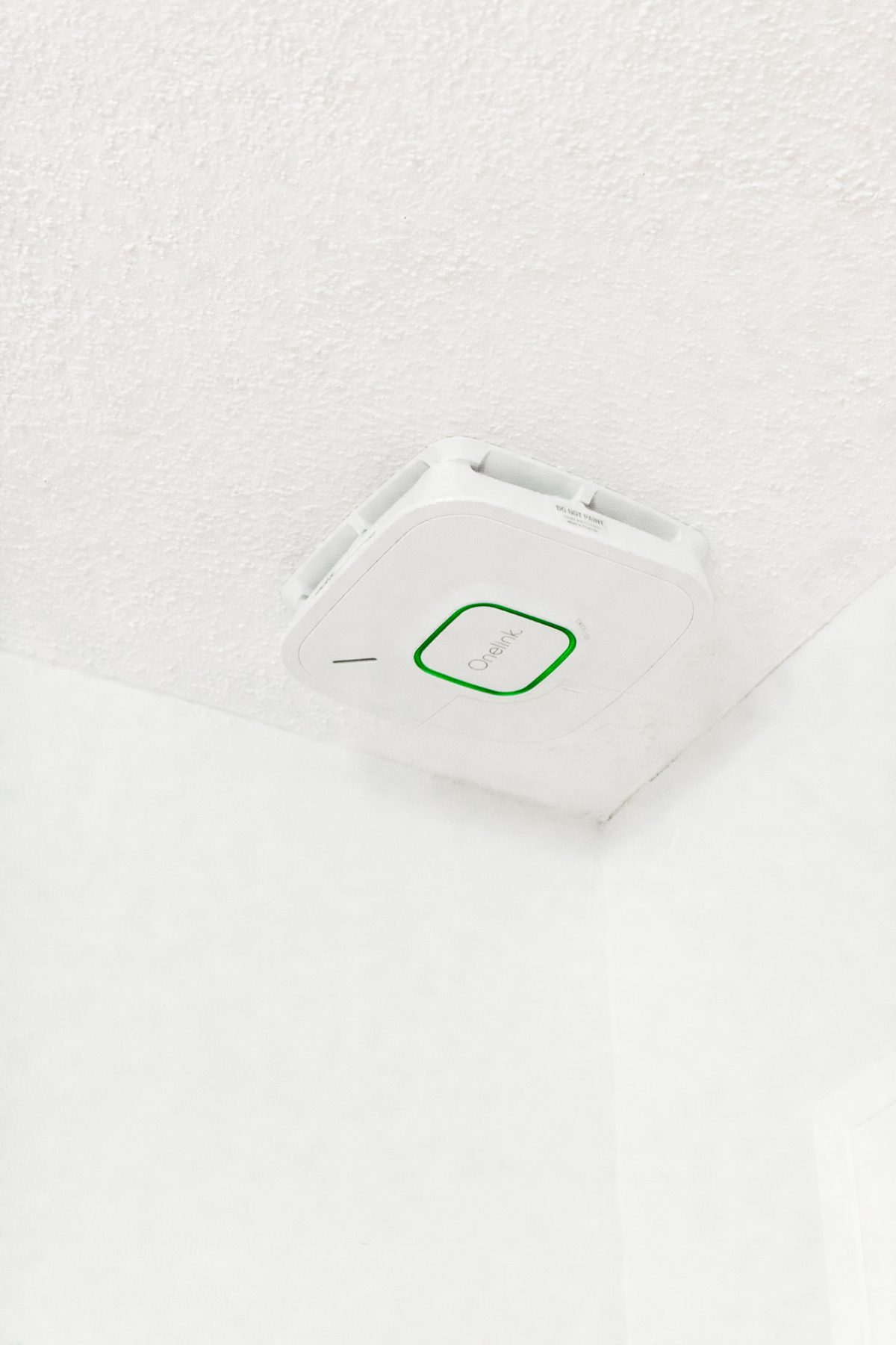 Fire Alarm on Ceiling in Bedroom - How to Keep Your Family Safe with Onelink Smart Smoke & Carbon Monoxide Alarm