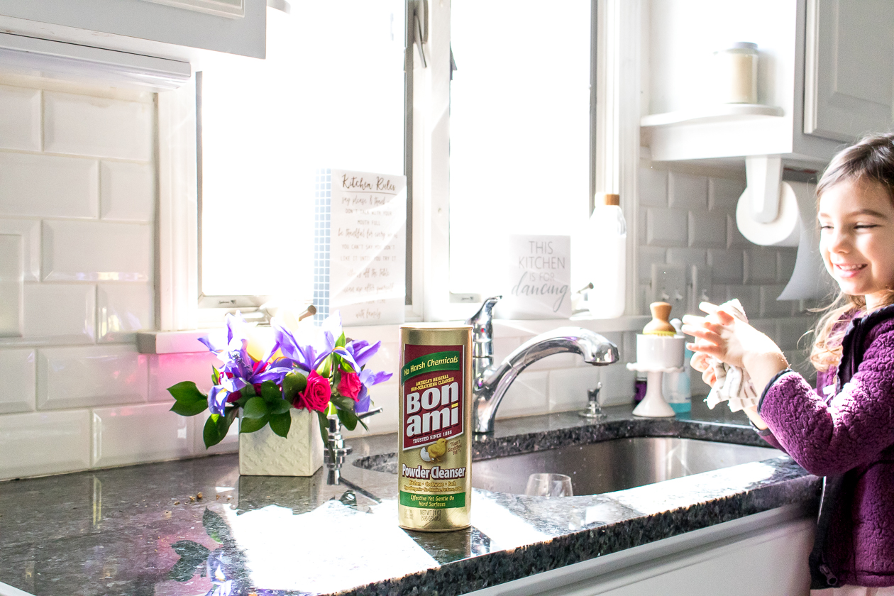Spring Cleaning Tips with Bon Ami Powder Cleanser