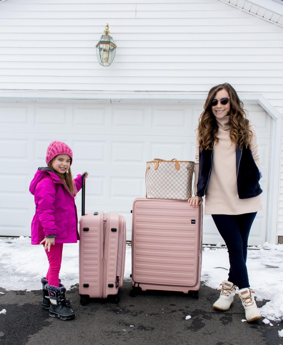 Rose Hardcover Lojel USA Luggage