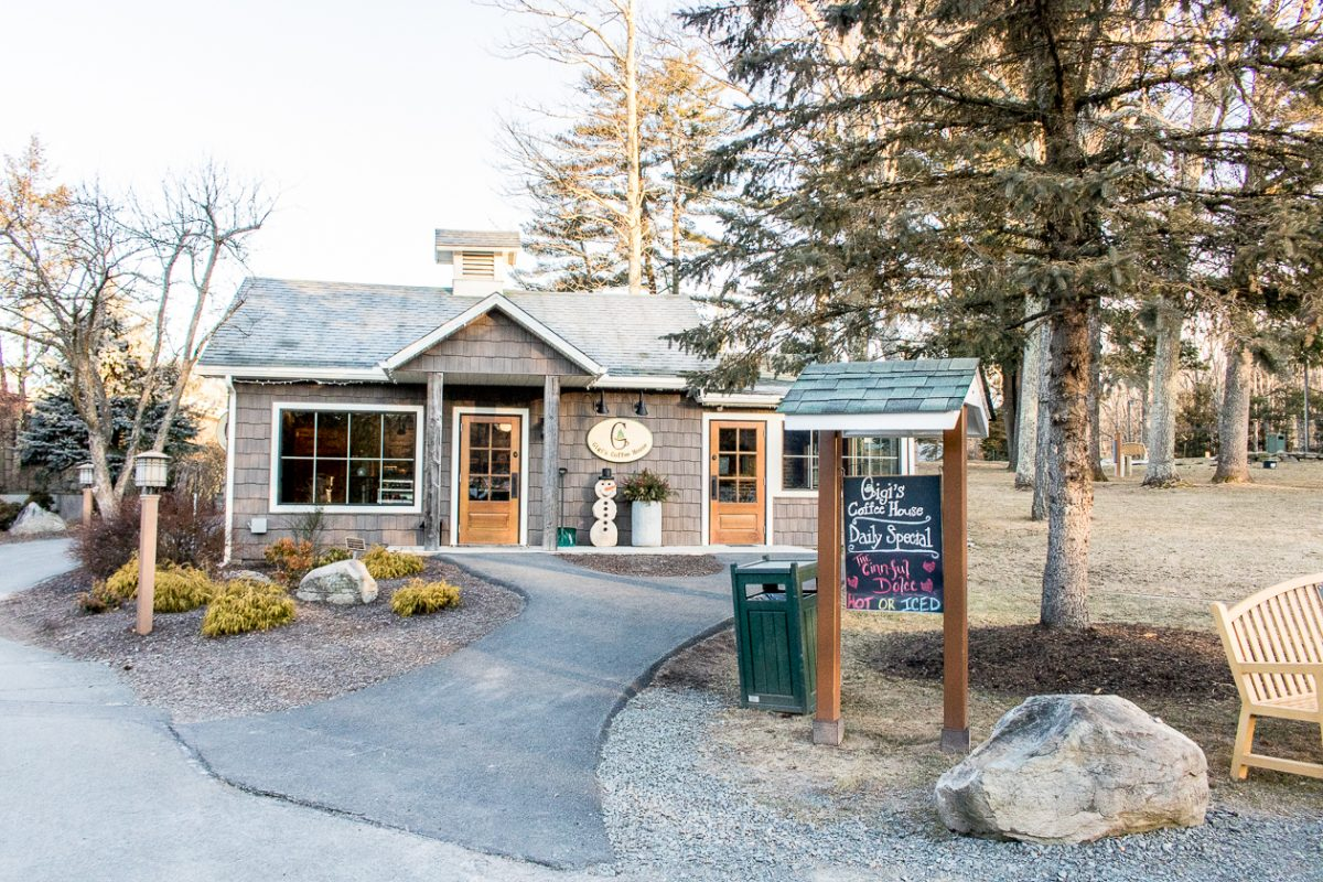 Gigi's Coffee House Woodloch Pines Pocono Mountains