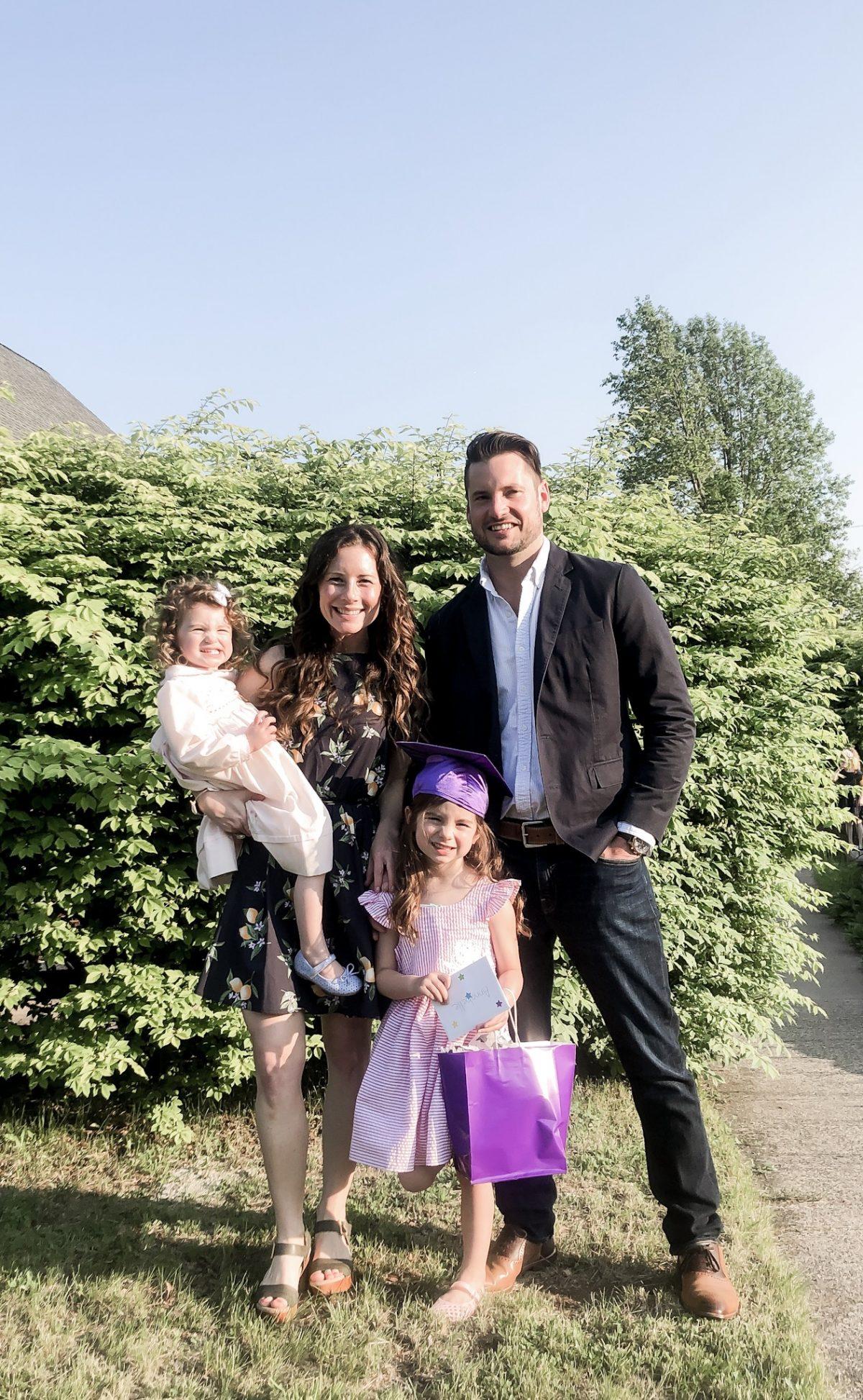 PreschoolGraduation Family Photo