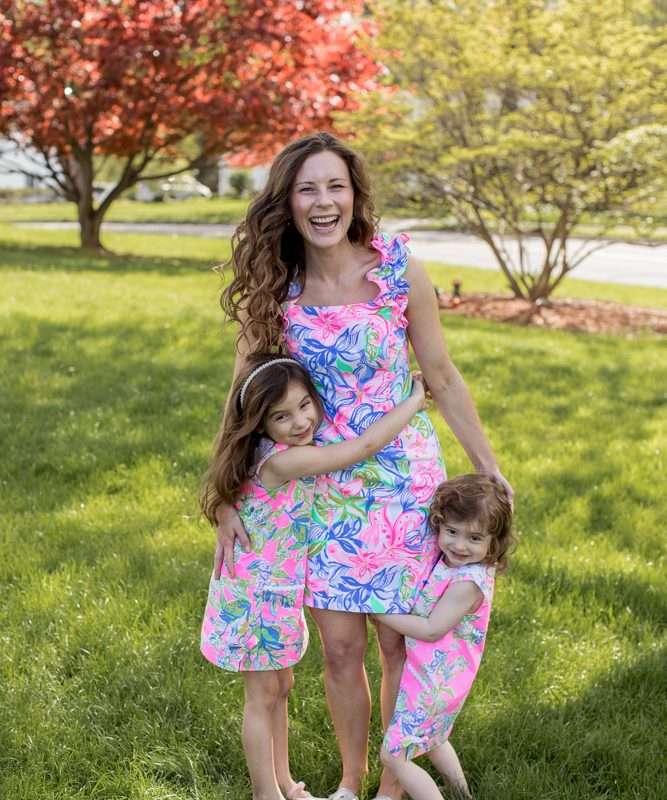 Mommy and Me Lilly Pulitzer from Saybrook Home