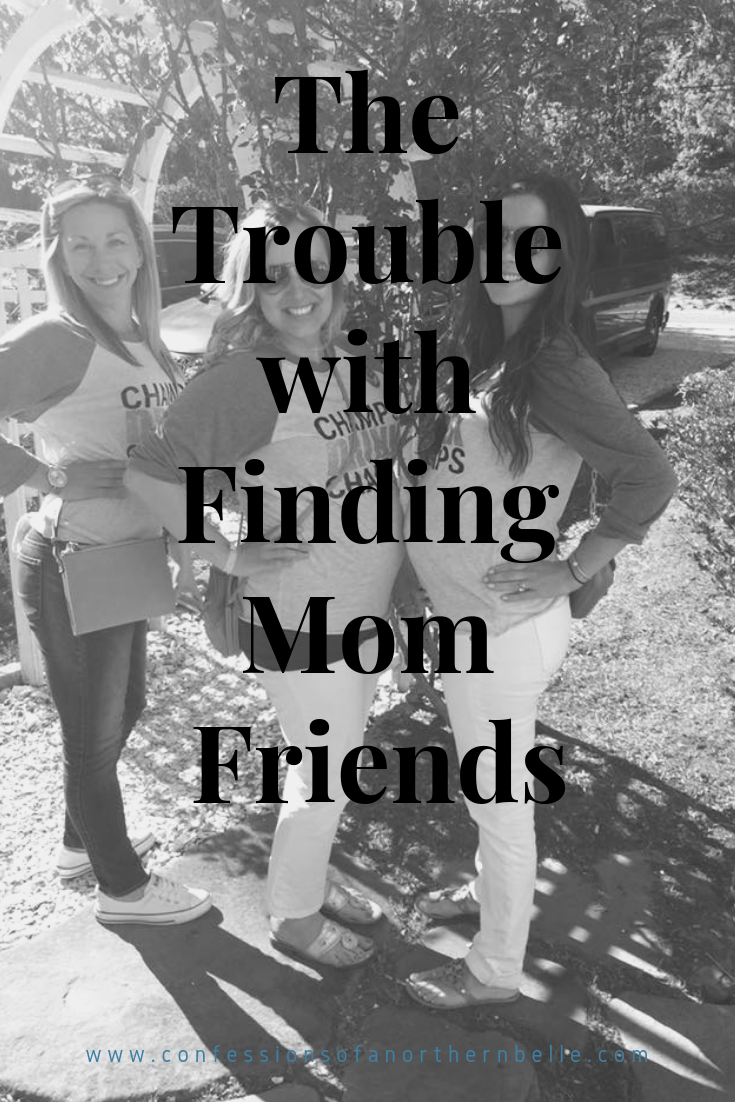 The Difficulty with Finding Mom Friends