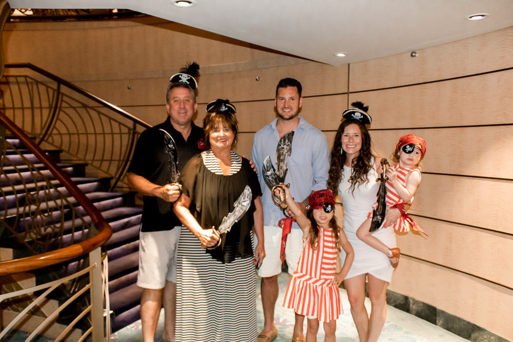 Disney Cruise Pirate Night Family Outfits