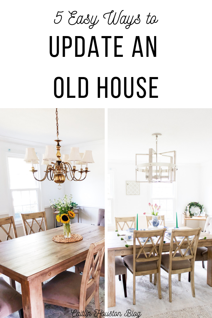 Ways to Update an Old House