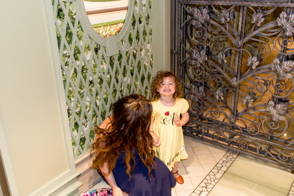 Personalized Princess Dresses on Girls for Disney Cruise