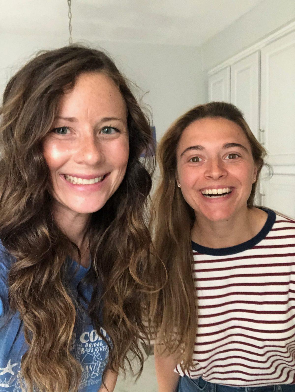 Caitlin Houston and Julia Dags