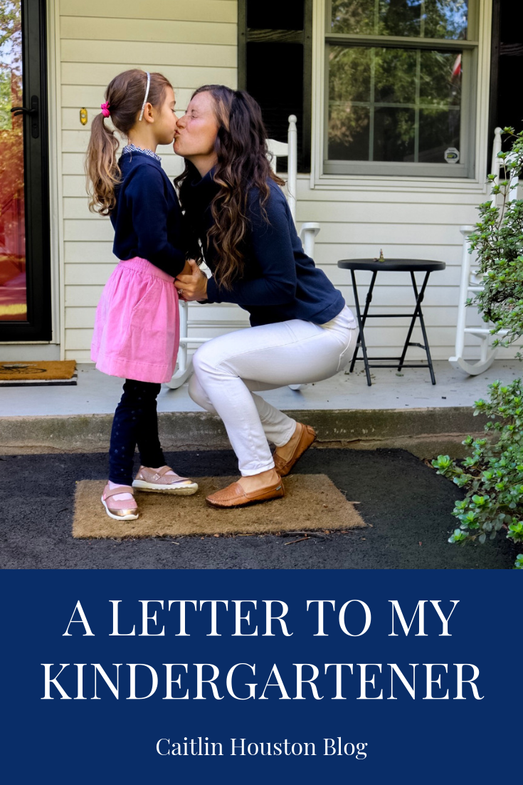 A Letter to My Kindergartener