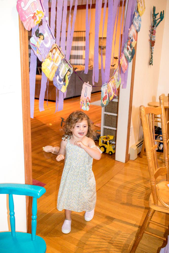 Third Birthday Child Excited Decorations
