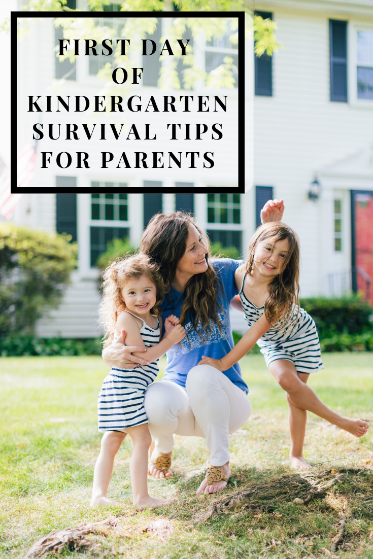 Kindergarten Survival Tips for Parents - First Day of Kindergarten for Parents