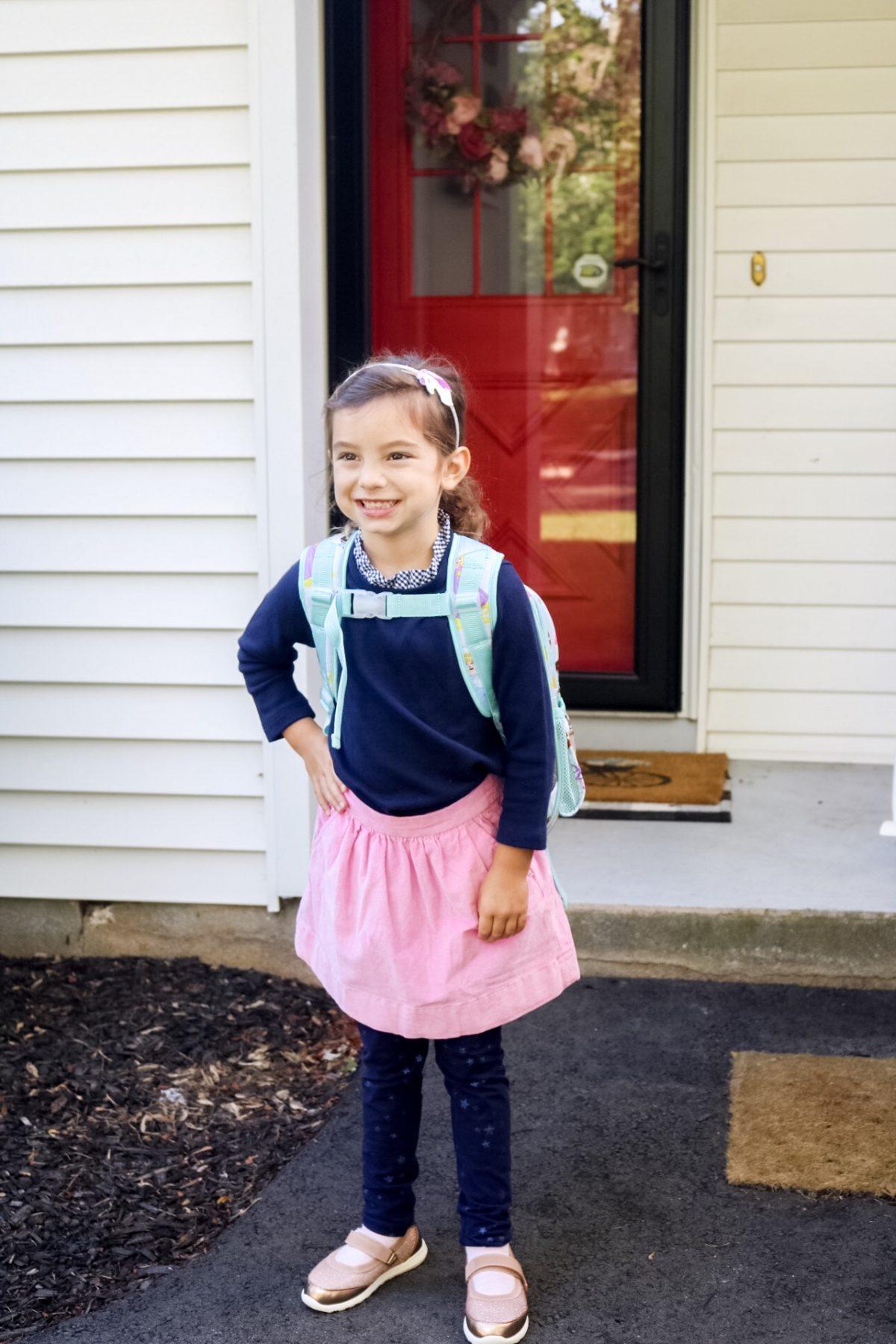 A Letter to My Kindergartener #kindergarten #backtoschool #motherhood