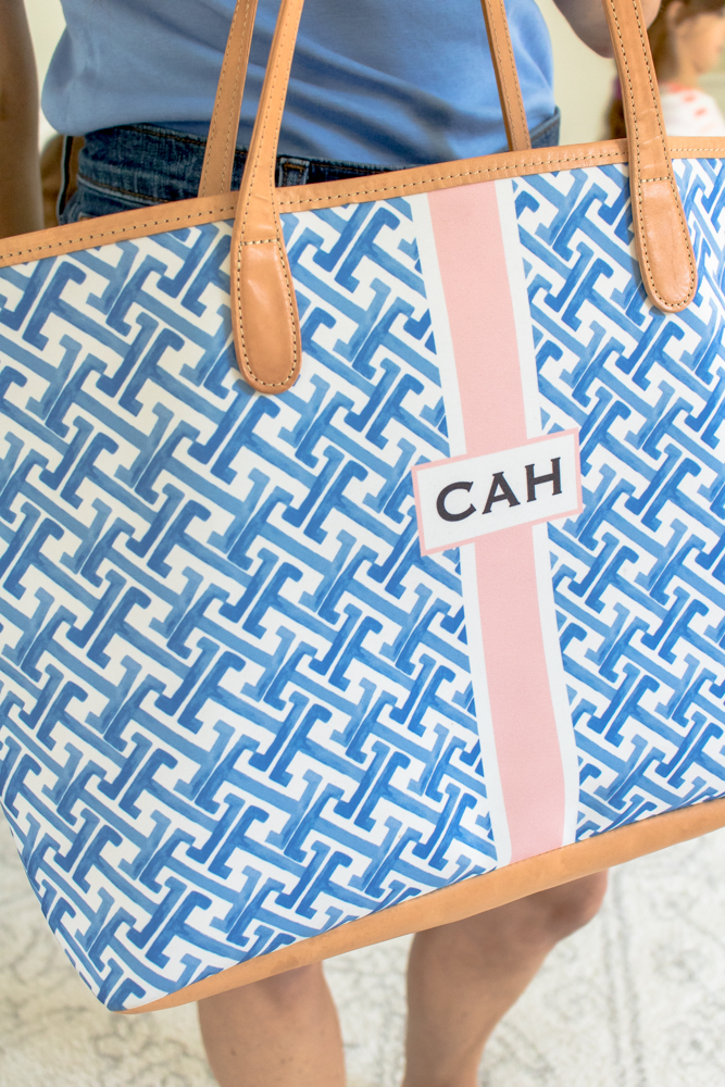 St Anne Carryall Tote Monogrammed CAH