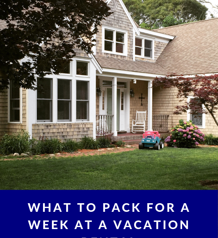 What to Bring to a Vacation Rental