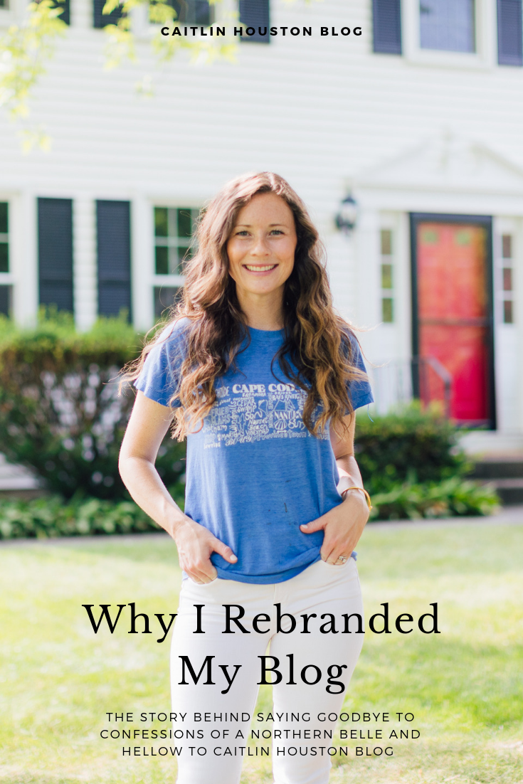 Caitlin Houston Rebrands Her Blog