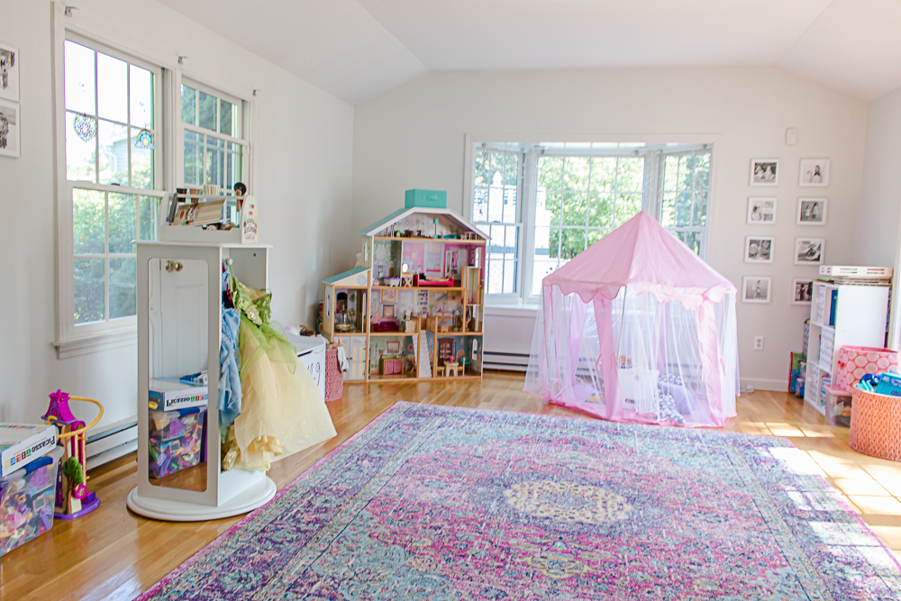 Pink Girls Playroom
