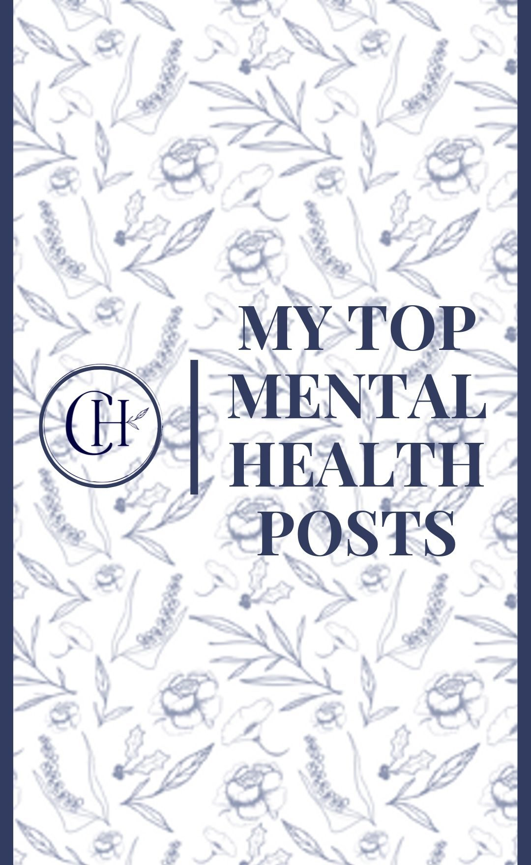 Mental Health Posts By Caitlin Houston