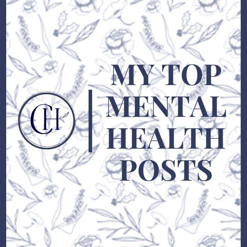 My Top Mental Health Posts