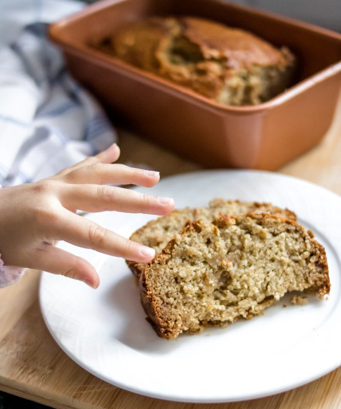 Easy Dairy Free Banana Bread
