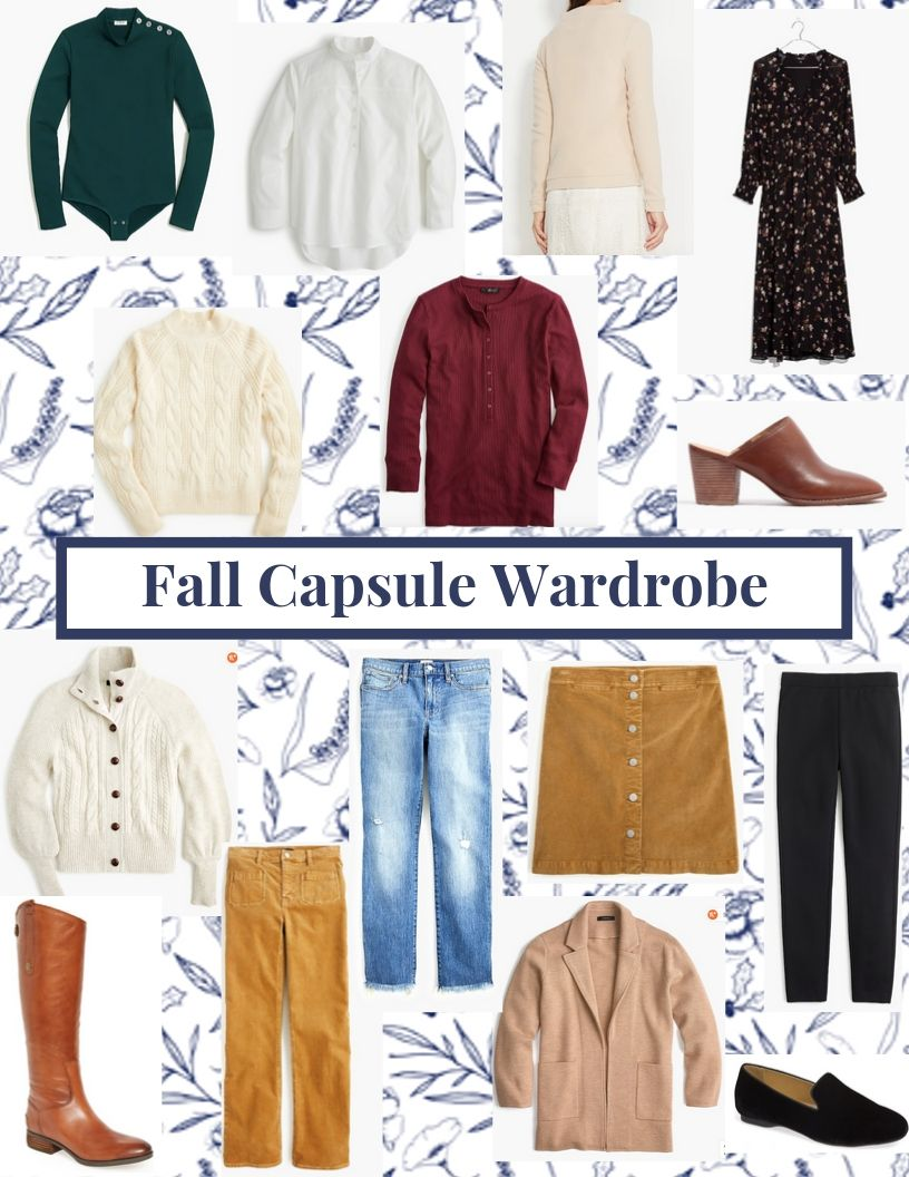 fall capsule wardrobe jcrew dudley stephens