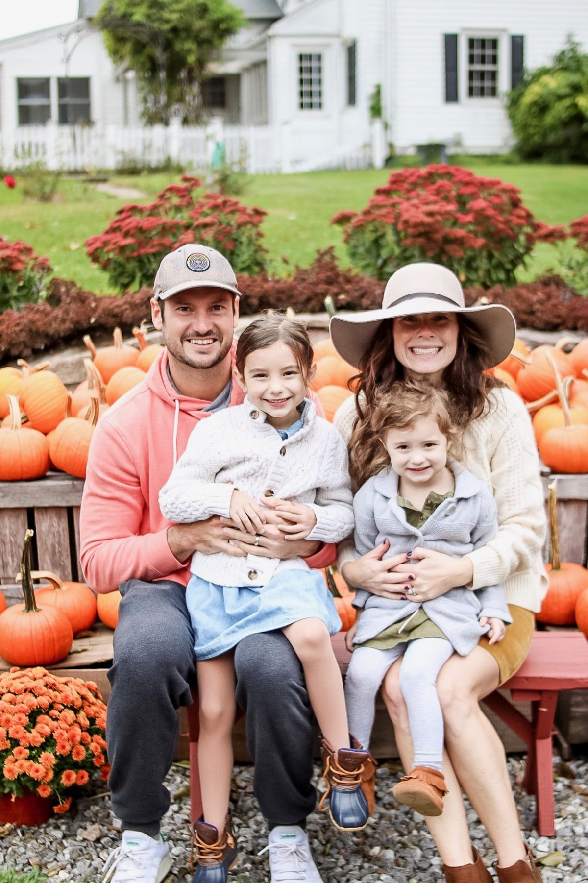 Pumpkin Picking at Drazen Orchards in Cheshire Connecticut - Weekend Recap on Caitlin Houston Blog